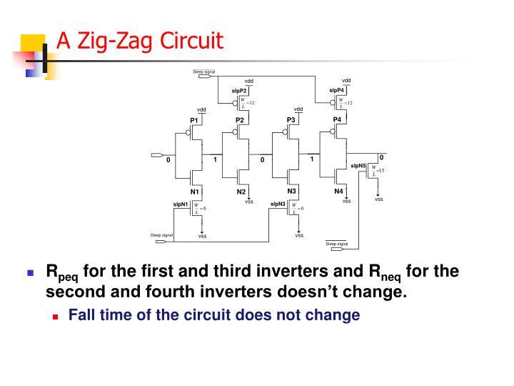 A Zig-Zag Circuit