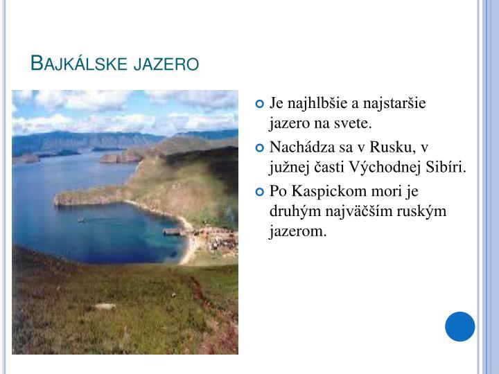 Bajkálske