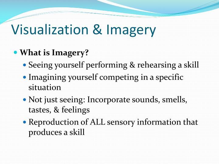 Visualization & Imagery