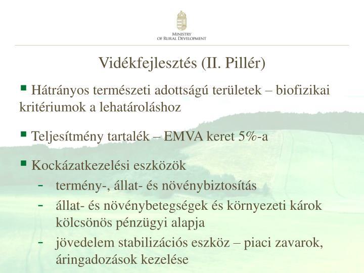 Vidékfejlesztés (II. Pillér)