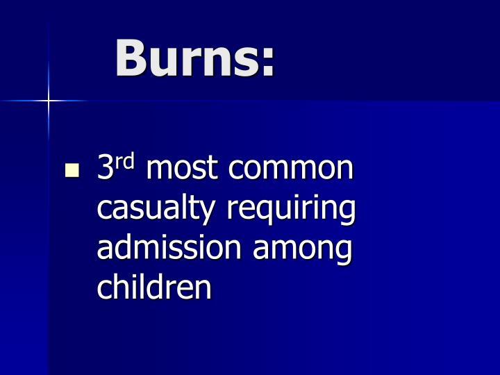 Burns: