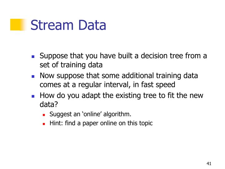 Stream Data