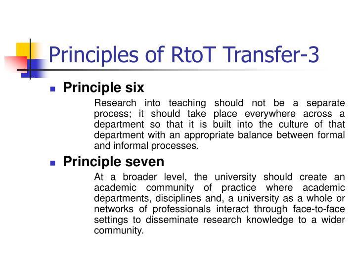 Principles of RtoT Transfer-3