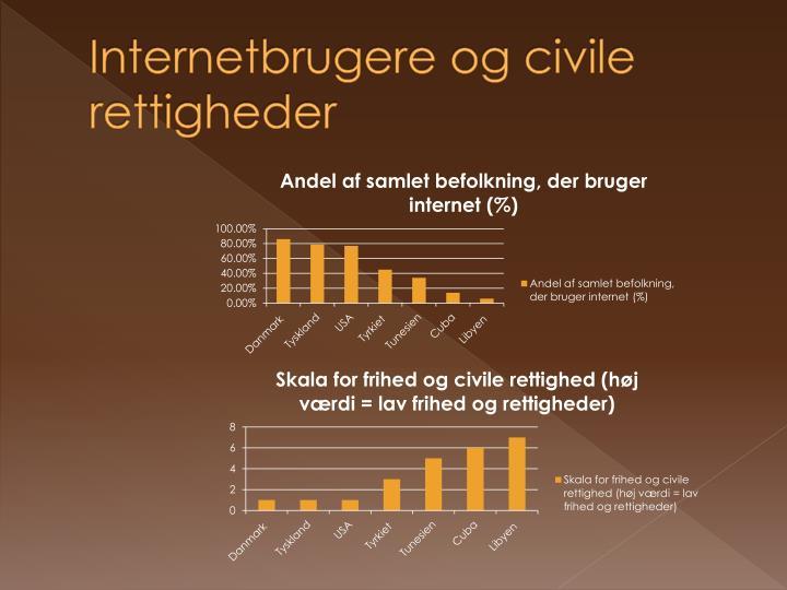 Internetbrugere og civile rettigheder