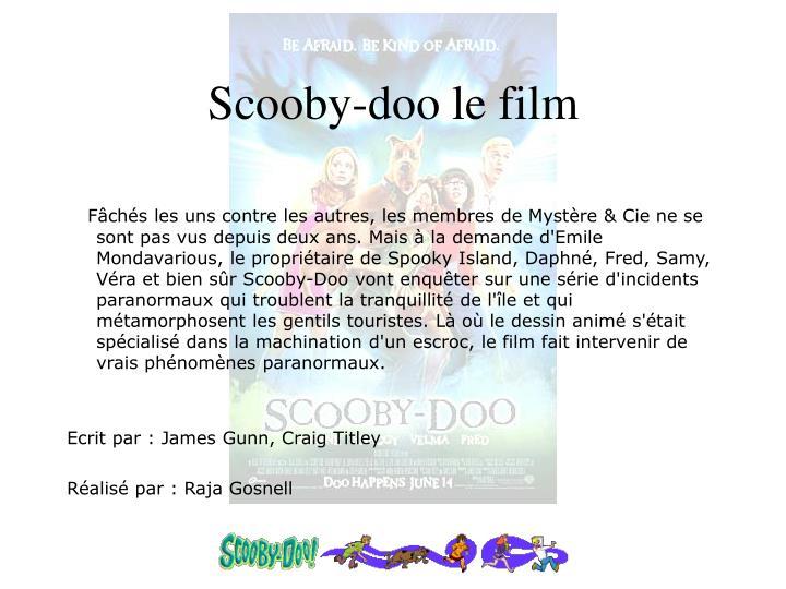 Scooby-doo le film