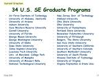 34 u s se graduate programs