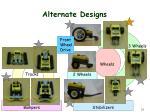 alternate designs