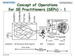 concept of operations for se practitioners seps 1