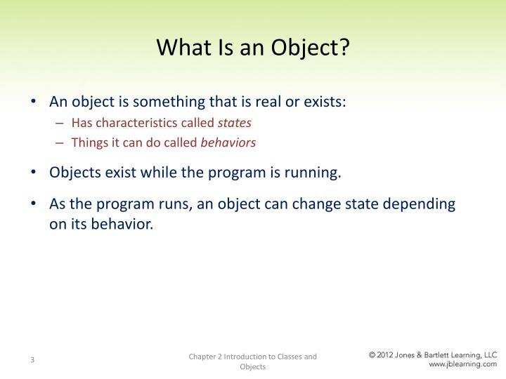 Describe an object essay