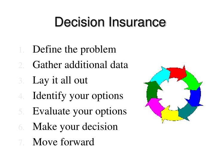 Decision Insurance