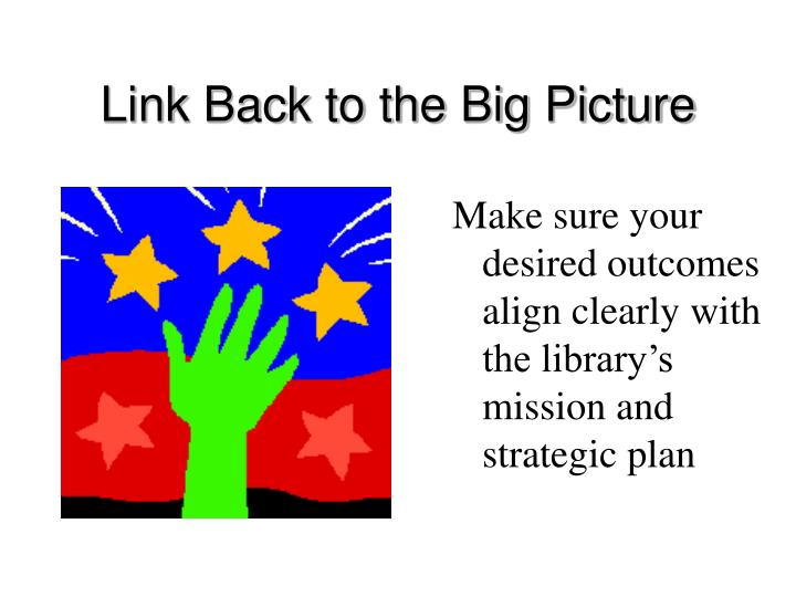 Link Back to the Big Picture