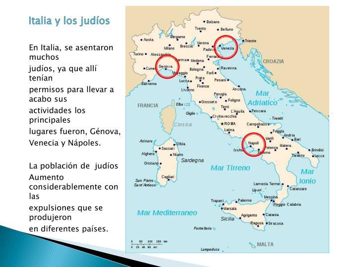 Italia y los judíos