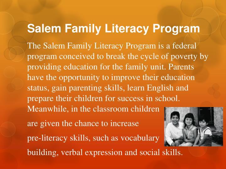 Salem Family Literacy Program