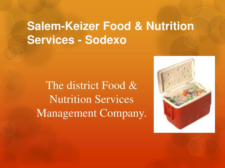 Salem-Keizer Food & Nutrition Services -
