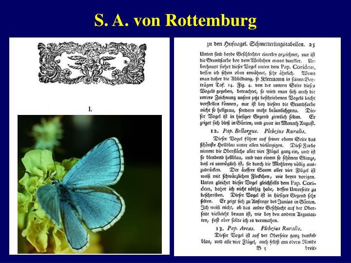 S. A. von Rottemburg