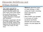 alexander mcgillivray and william mcintosh