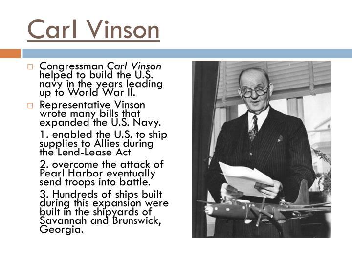 Carl Vinson
