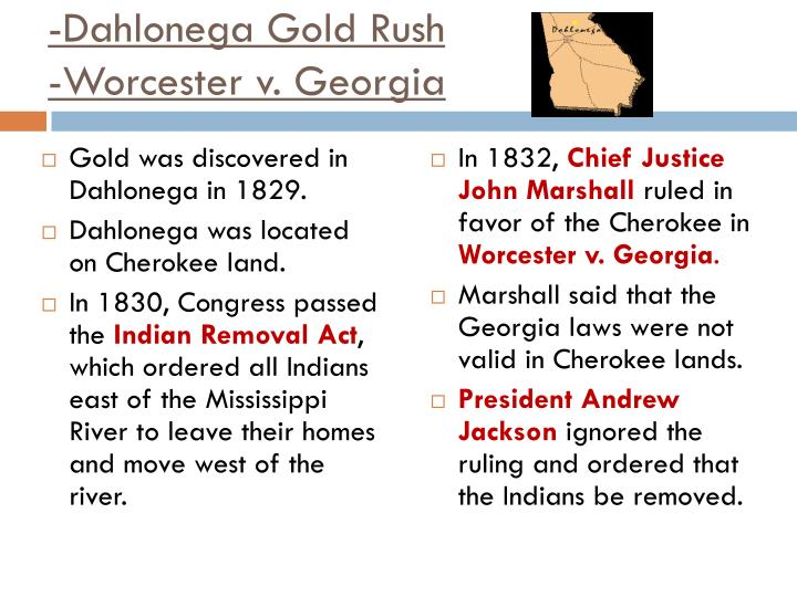 -Dahlonega Gold Rush