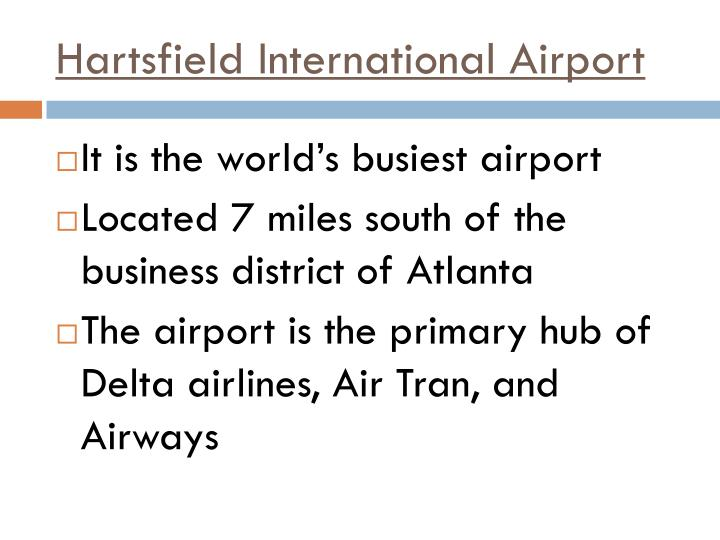 Hartsfield International Airport