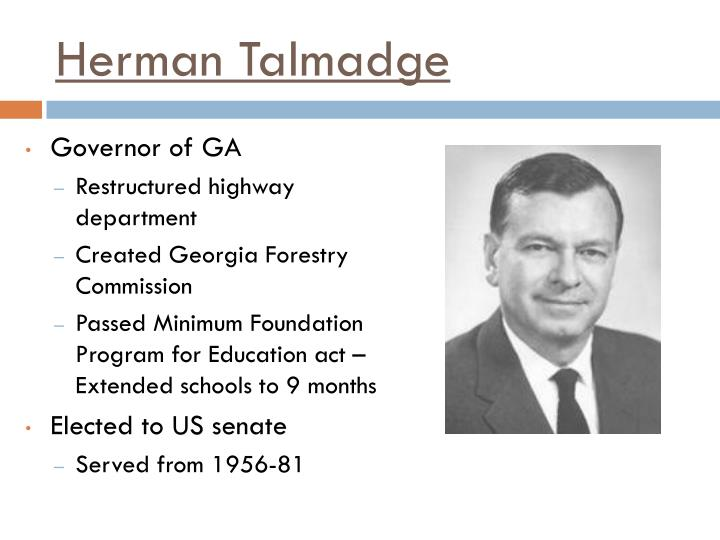 Herman Talmadge