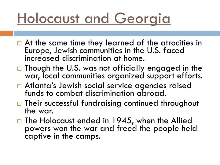 Holocaust and Georgia
