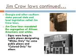 jim crow laws continued1