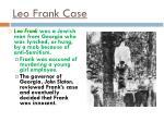 leo frank case