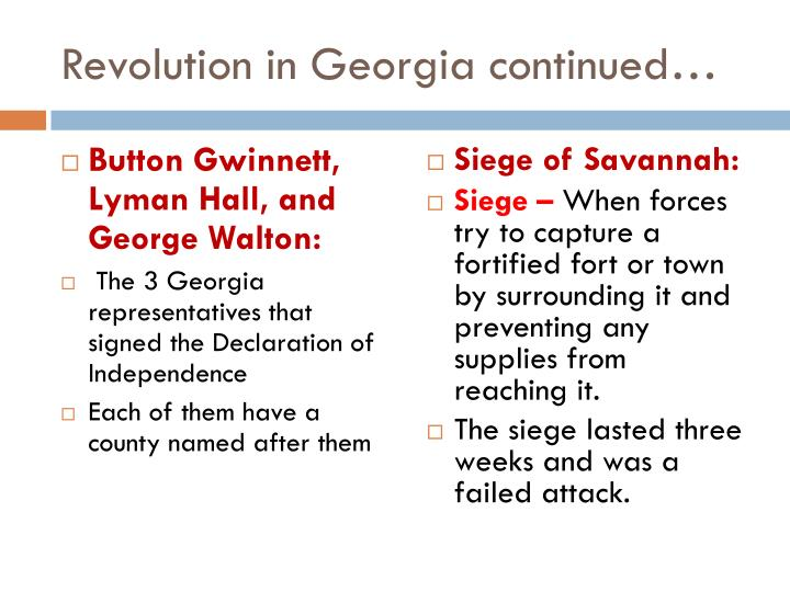 Revolution in Georgia continued…