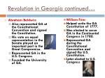 revolution in georgia continued1