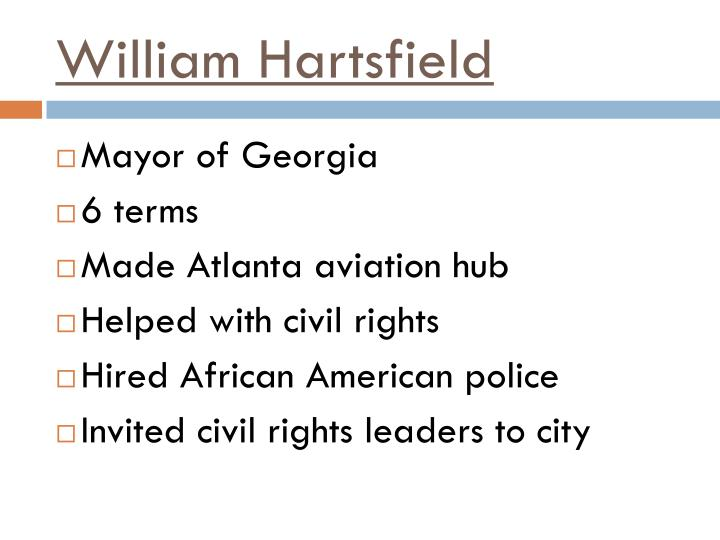 William Hartsfield