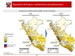 expansi n de bancos e instituciones microfinancieras