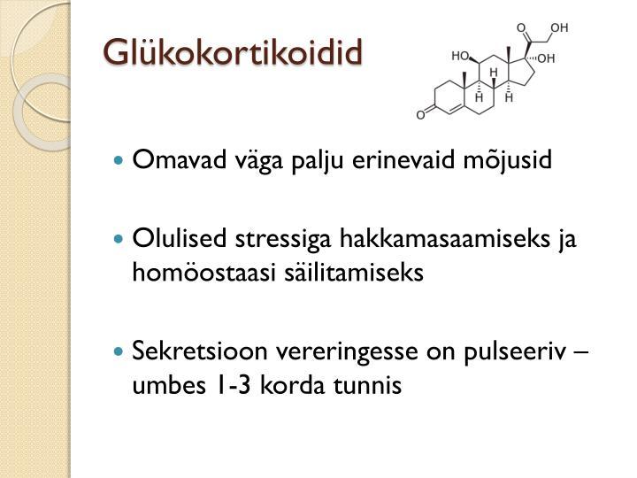 Glükokortikoidid