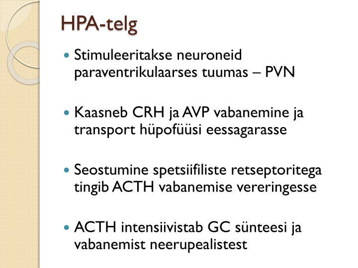 HPA-telg