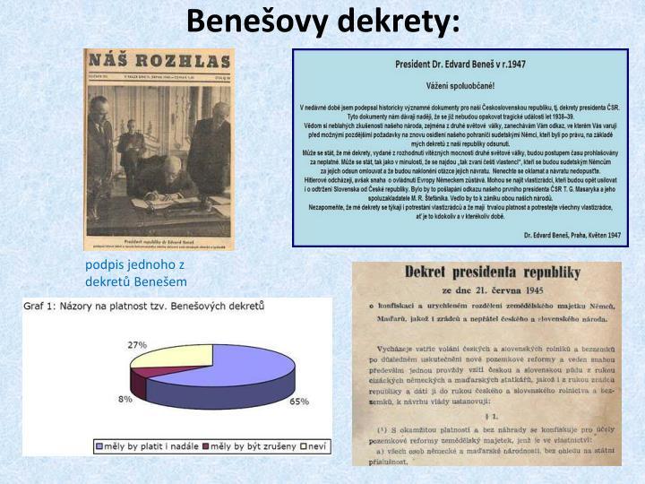 Benešovy dekrety:
