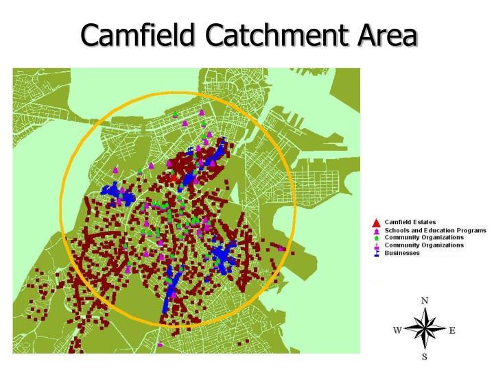 Camfield Catchment Area