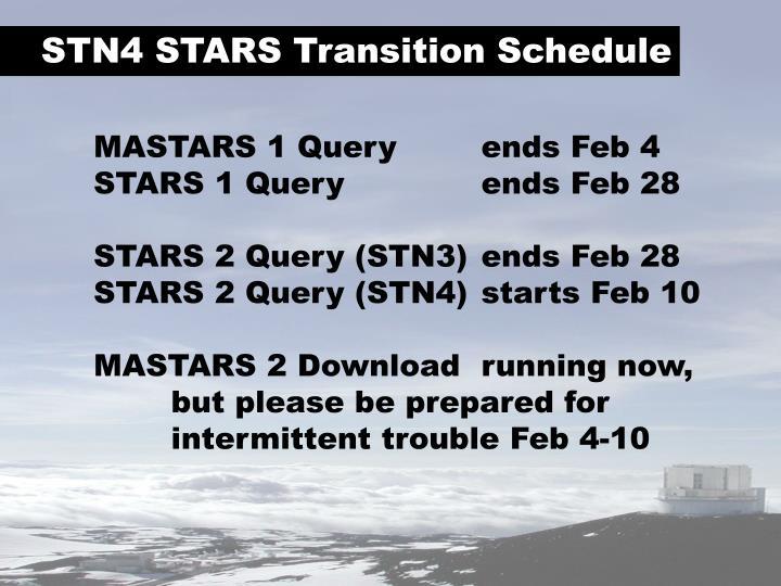 STN4 STARS
