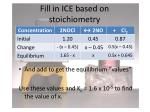 fill in ice based on stoichiometry1