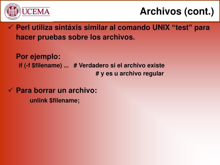 Archivos (cont.)