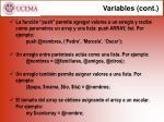 variables cont1
