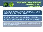 enfoque integrado de prospectiva y estrategia