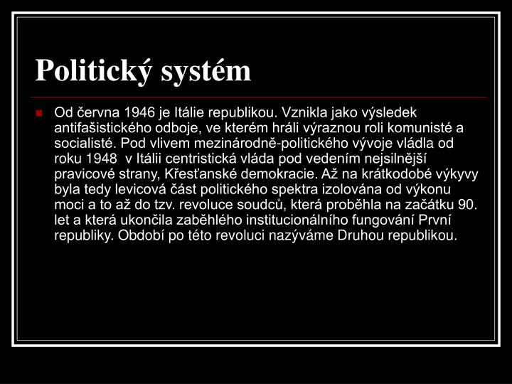 Politick syst m