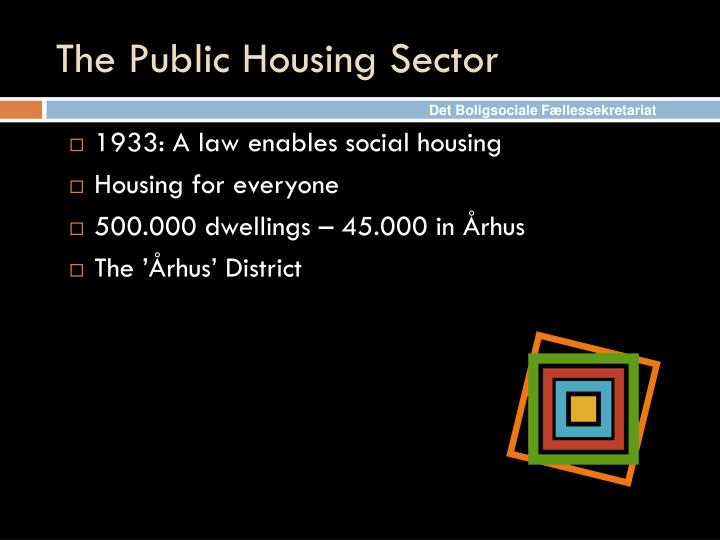 The Public Housing Sector