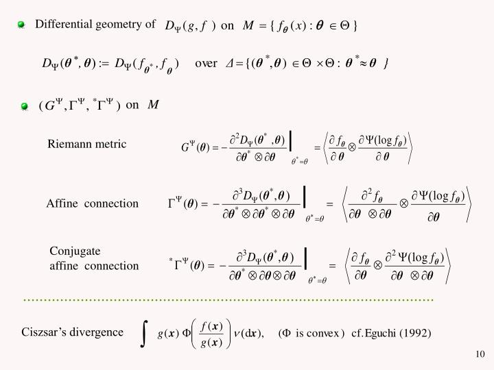 Differential geometry of