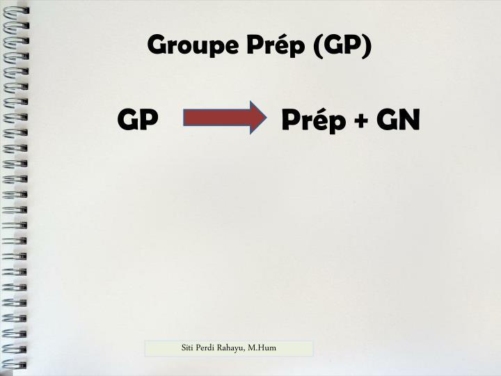 Groupe Prép (GP)