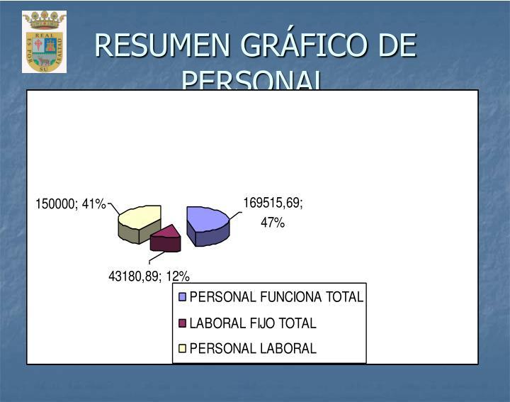 RESUMEN GRÁFICO DE PERSONAL