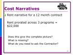 cost narratives4