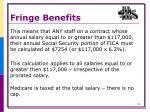 fringe benefits4