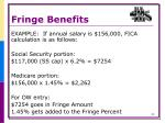 fringe benefits5