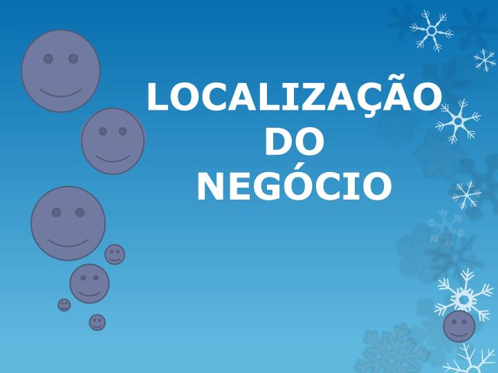 LOCALIZAO DO
