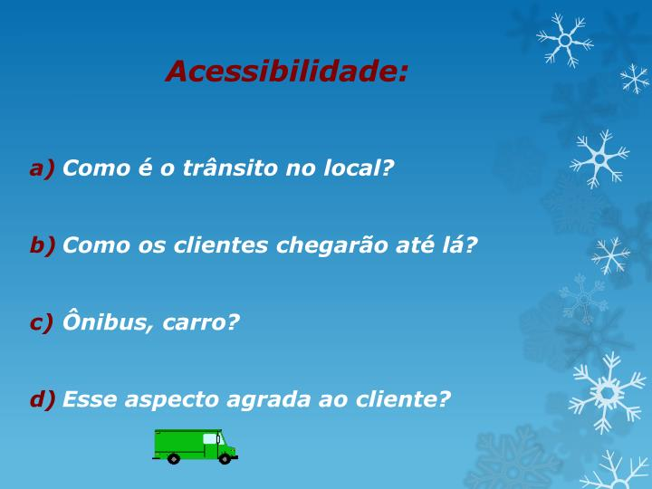 Acessibilidade: